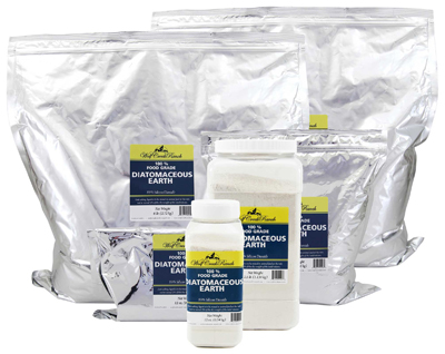 Food grade diatomaceous earth provides many excellent health benefits for people, plants, and animals.  Choose one of the sizes we have and buy it here or at one of our retail stores near you.