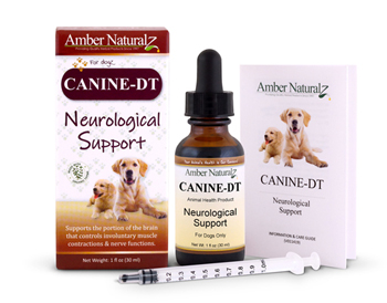 Canine Distempaid is a natural aid for  dogs with canine distemper.