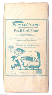Food grade diatomaceous earth is excellent for internal and external worm and parasite control.