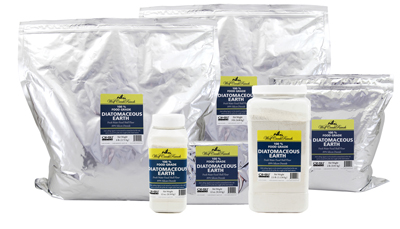 Food grade diatomaceous earth is excellent for everyone - human, animal, and plant.  Take it daily and feed it to your animal guardians for better health and feed utilization.