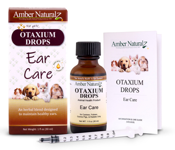 Otalgia drops helps relieve pet ear infections.
