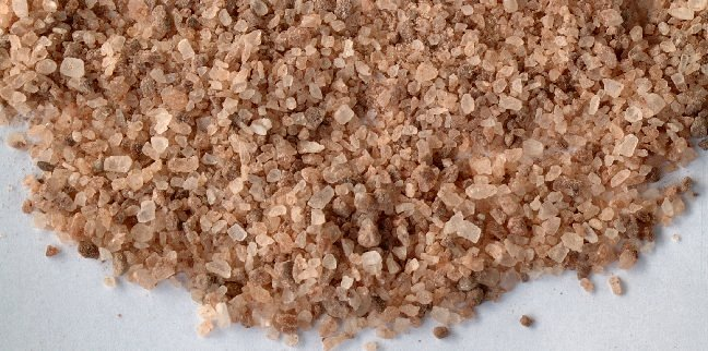Redmond Natural Trace Mineral Salt is beautiful!  Light pink, dark pink, white!  Excellent health benefits.